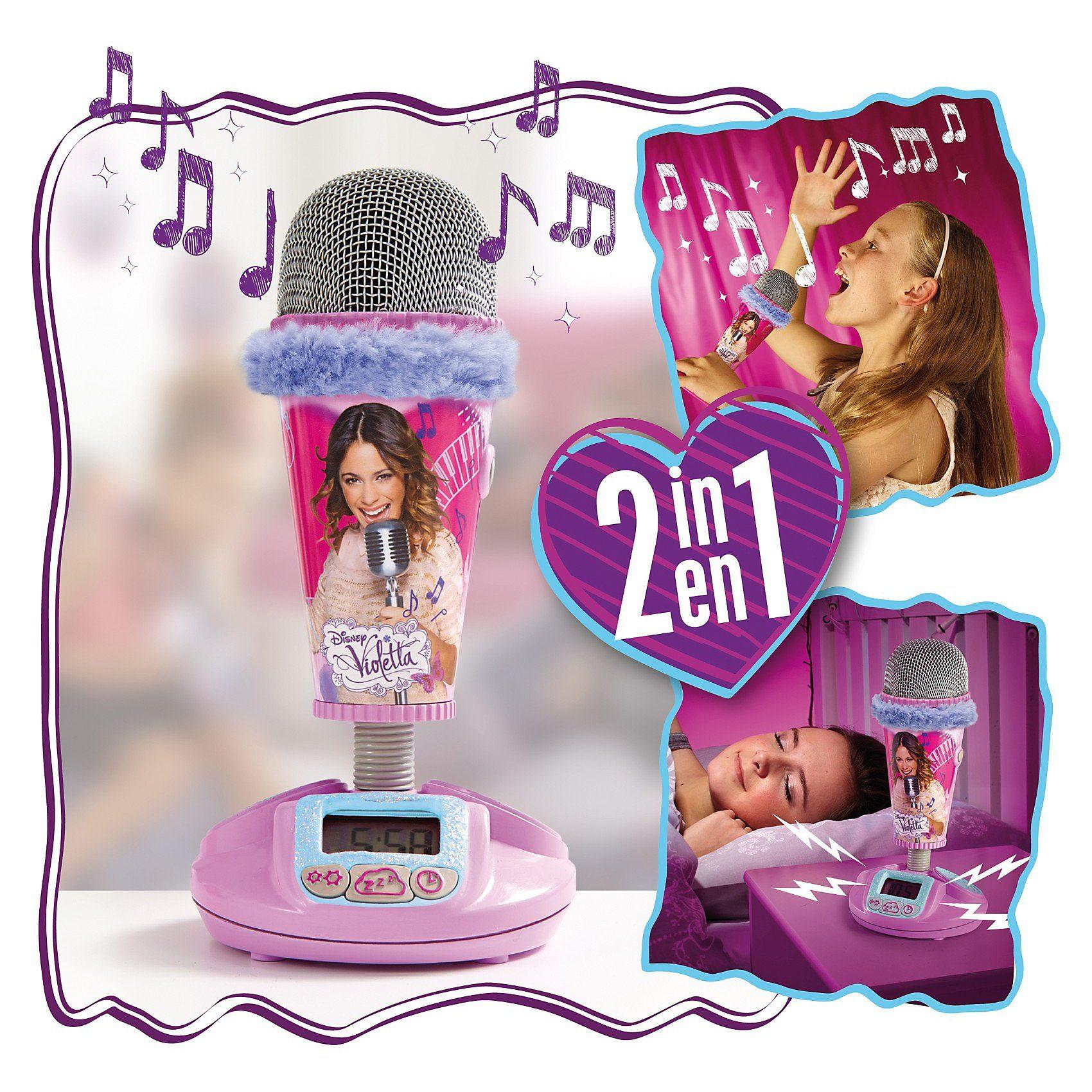 WORLDS APART Mikrofon Wecker, Violetta
