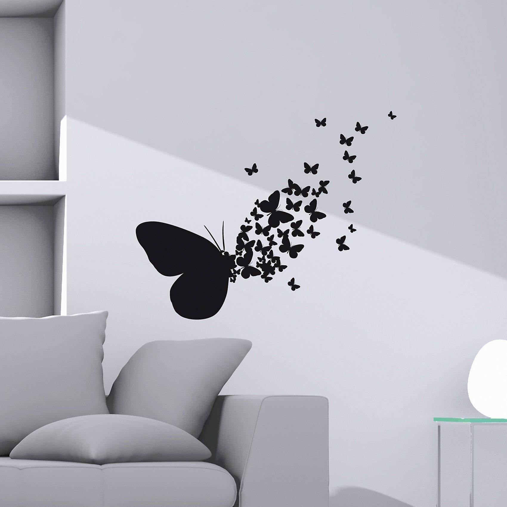 Ansprechend Wandtattoo Schmetterling Dekoration Von Wandsticker   Dekoration > Wandtattoos > Wandtattoos