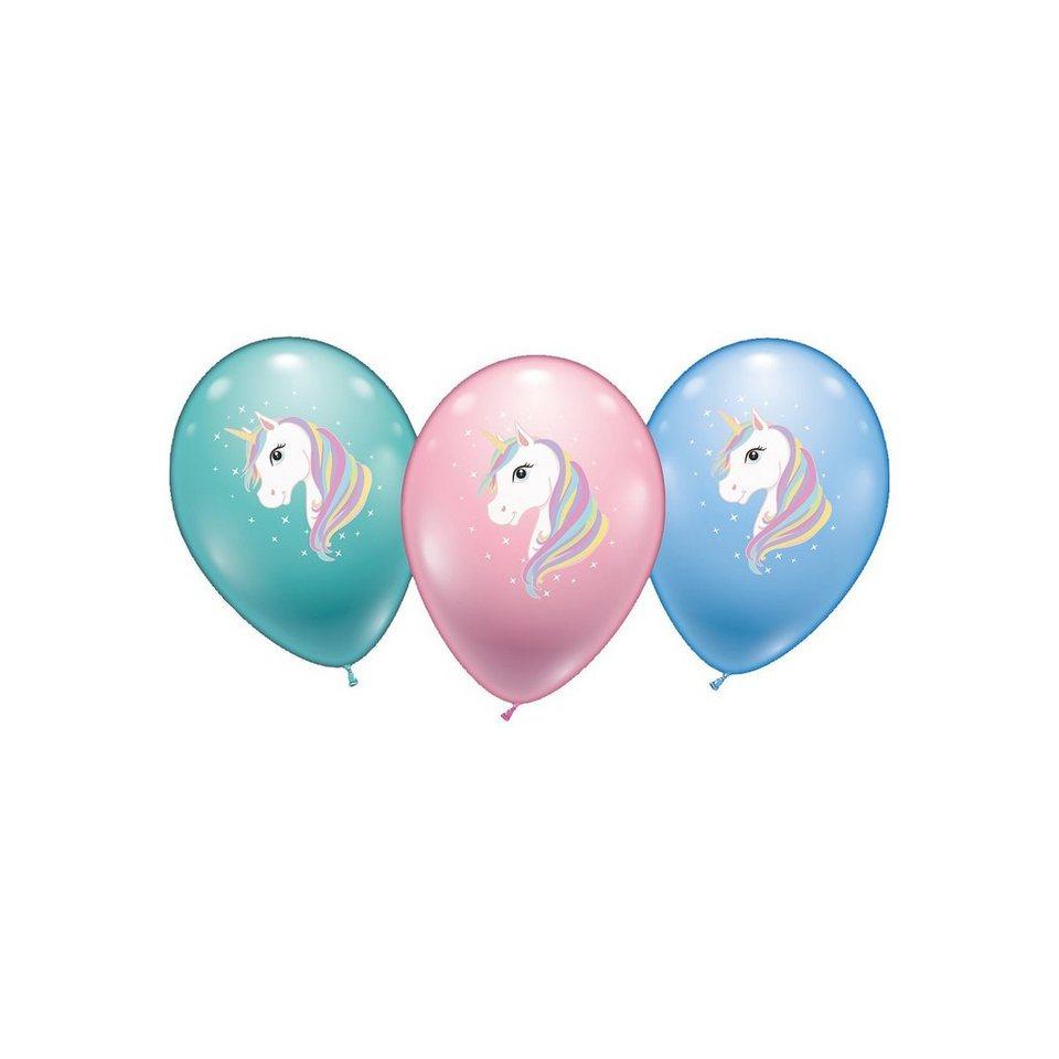 karaloon luftballons einhorn 15 st ck kaufen otto. Black Bedroom Furniture Sets. Home Design Ideas