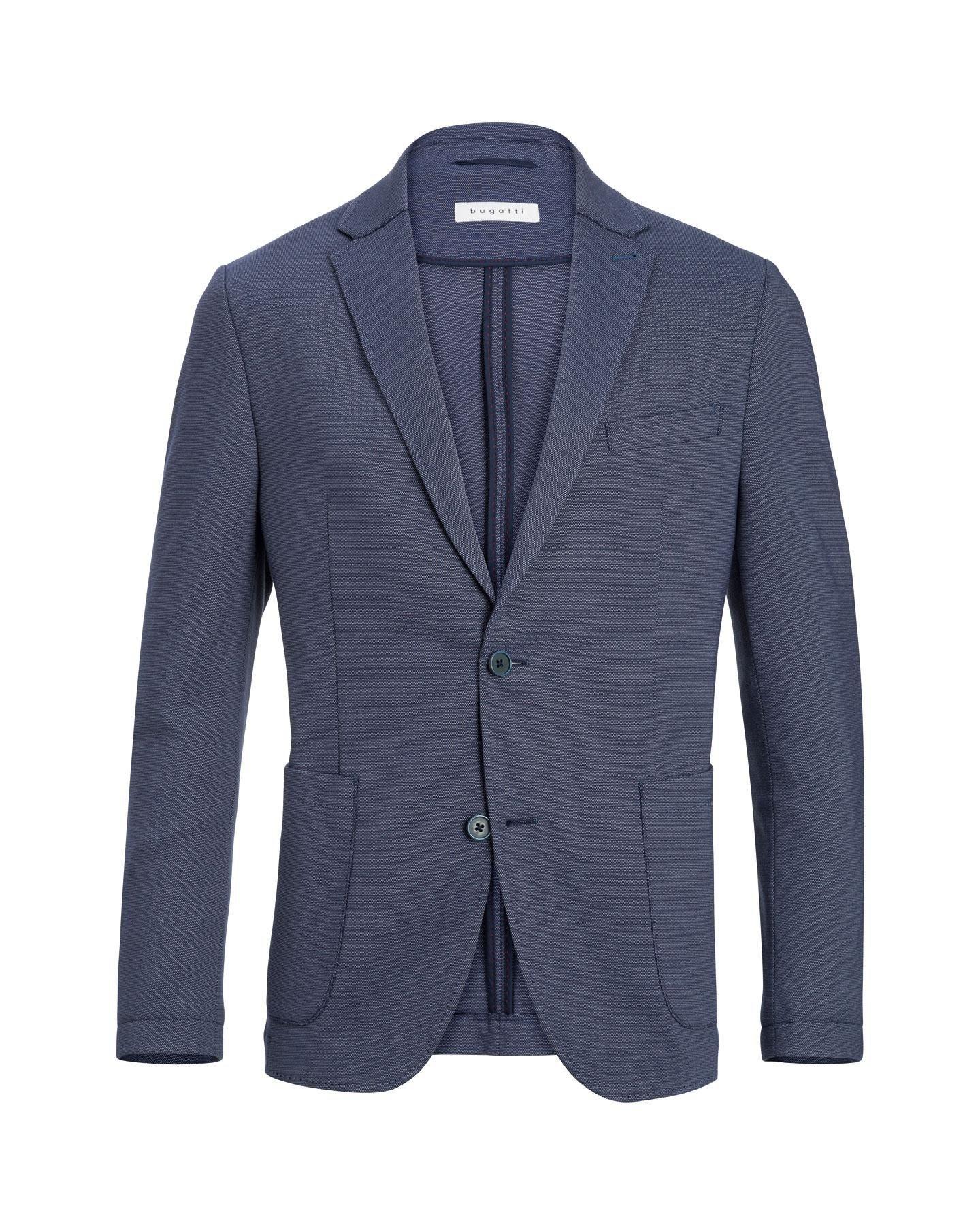 Bugatti Sakko in einer Jersey Ware | Bekleidung > Sakkos > Sonstige Sakkos | Blau | Jersey | Bugatti