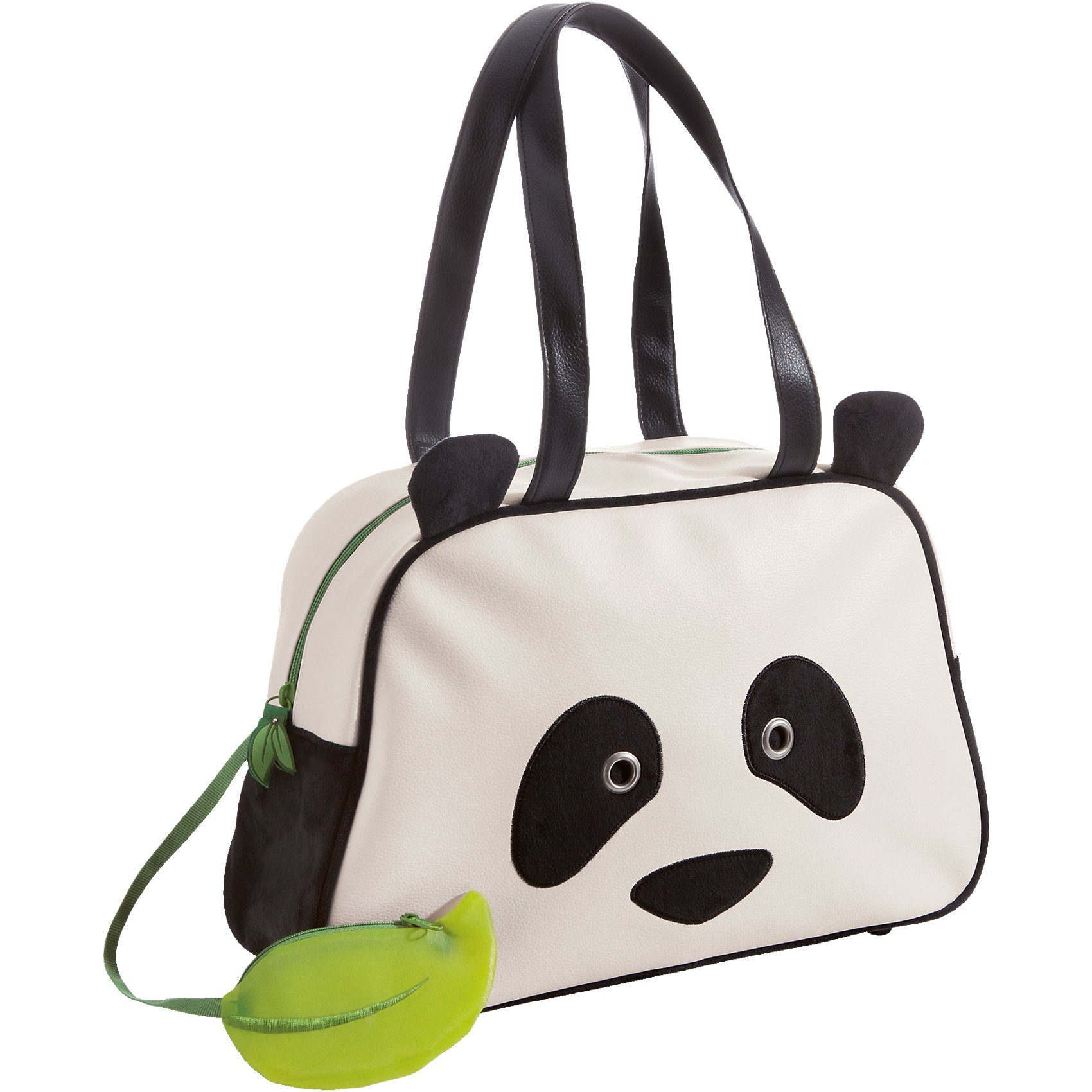 NICI Handtasche Panda Kunstleder/Plüsch