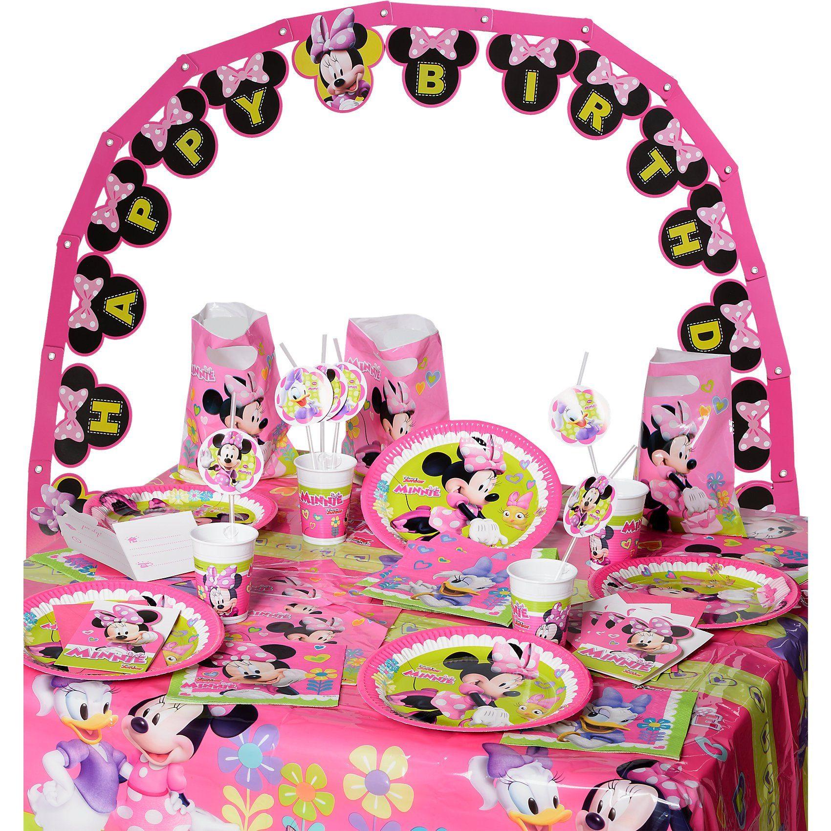 Procos Partyset Minnie Happy Helpers, 56-tlg.