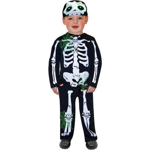 Amscan Kostüm Skeleton Toddler, 2-tlg.