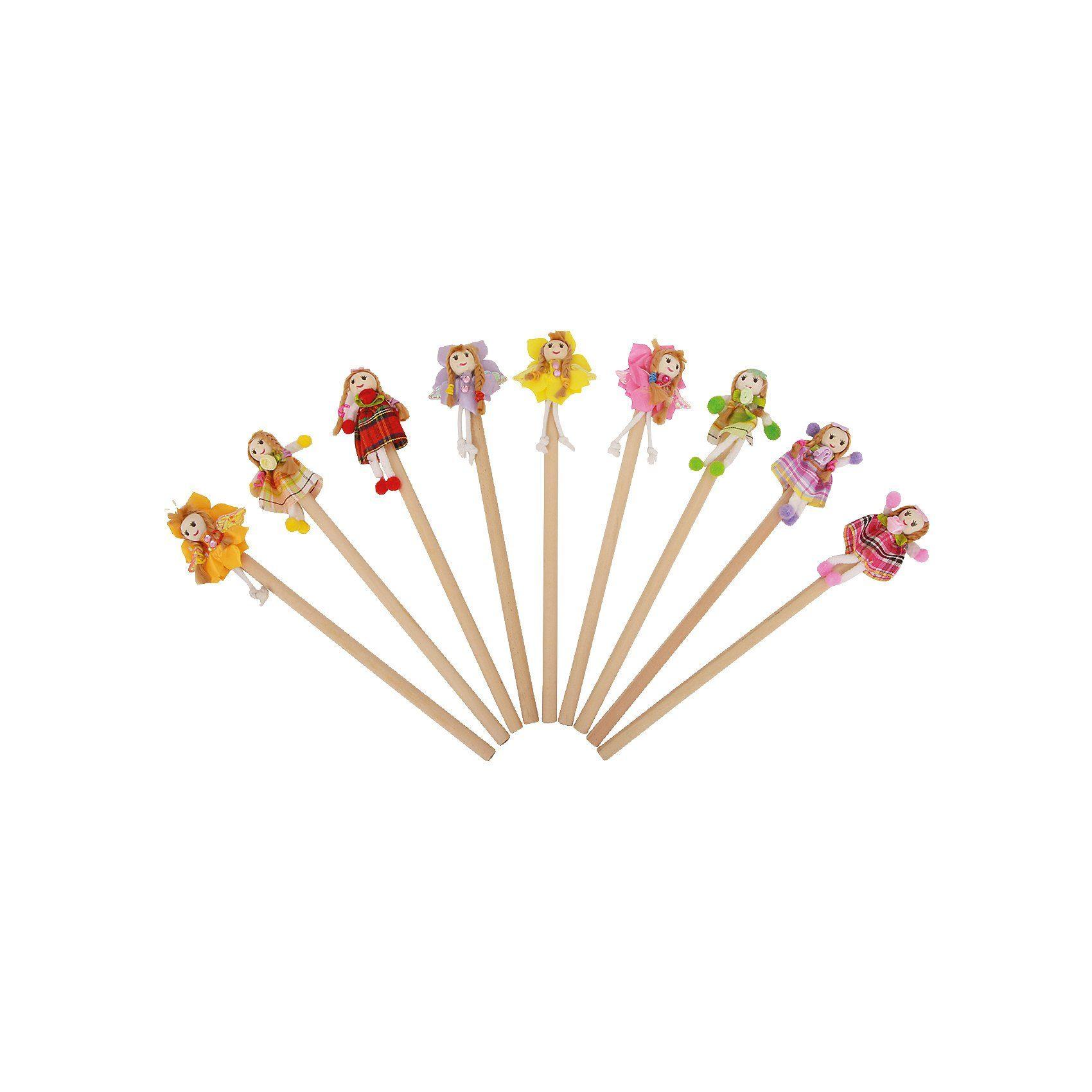 Legler Bleistift Blumenmädchen, 9 Stück