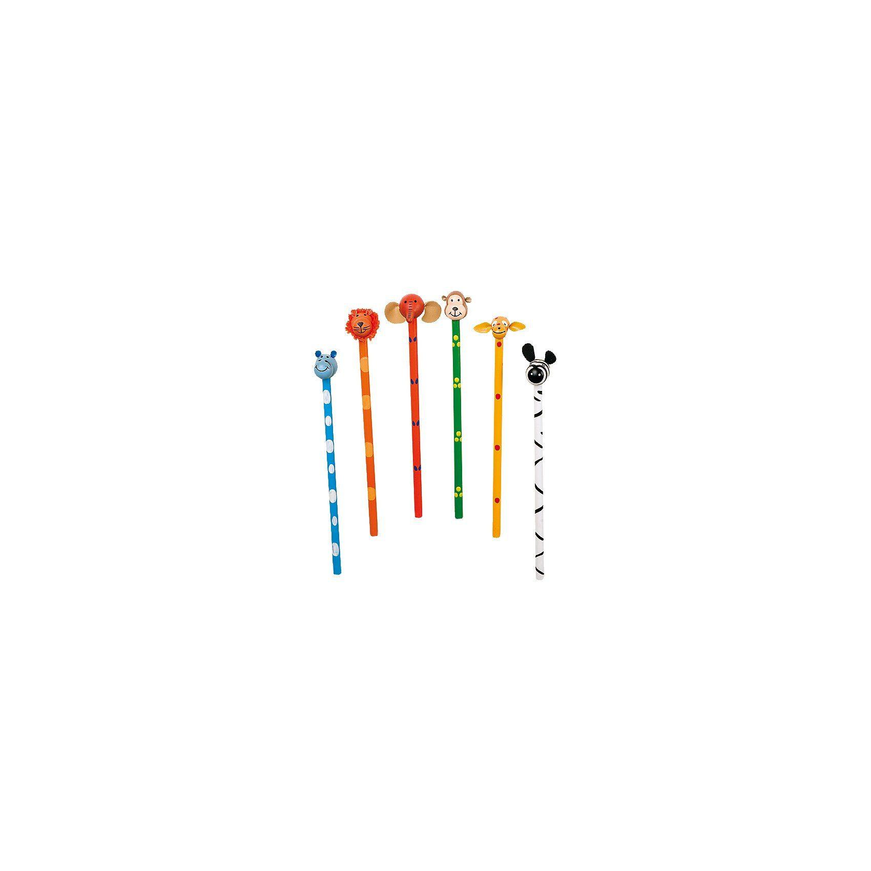 Legler Bleistift Safari, 6 Stück