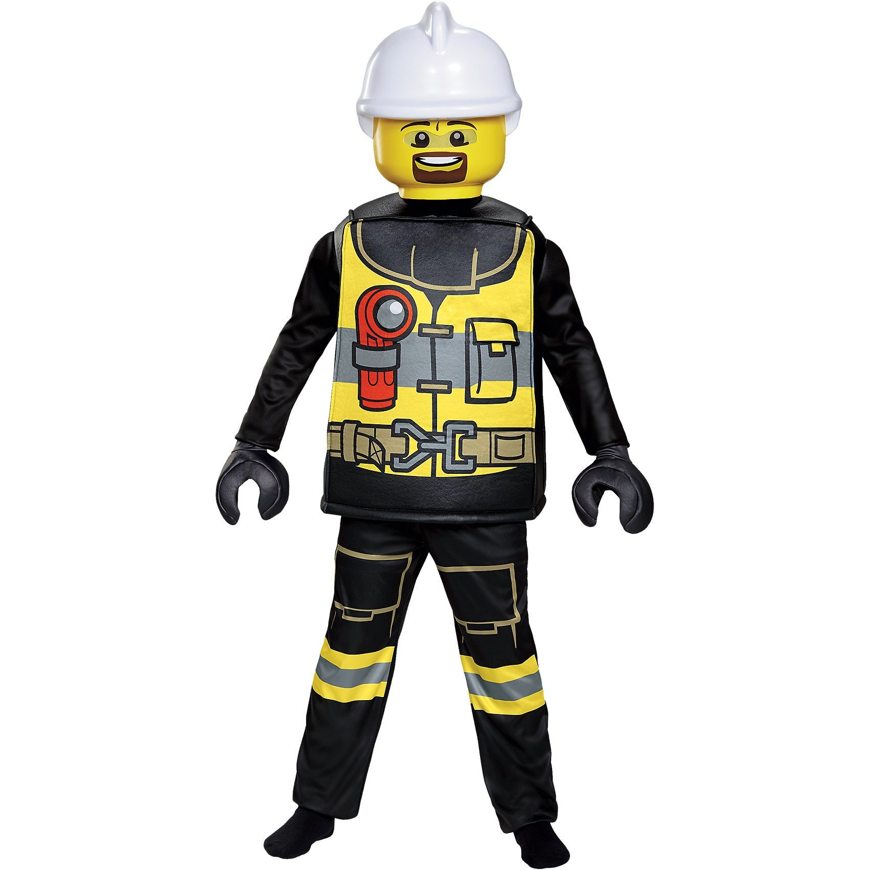 LEGO Kostüm Feuerwehrmann Deluxe, 5-tlg.