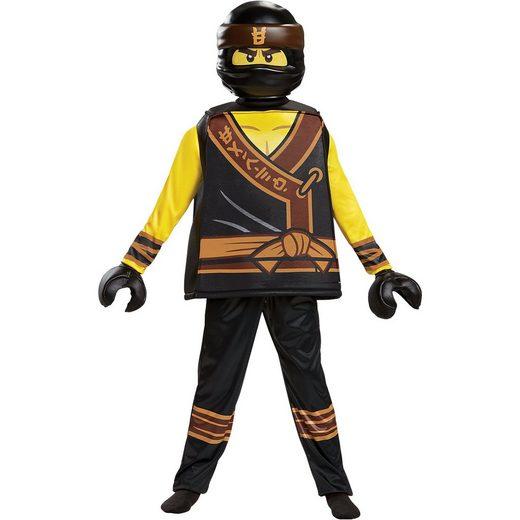 LEGO® Kostüm Ninjago Cole Movie Deluxe, 5-tlg.