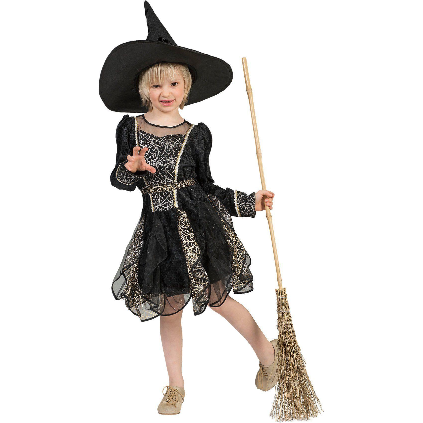 Funny Fashion Kostüm Hexe Spinnennetz