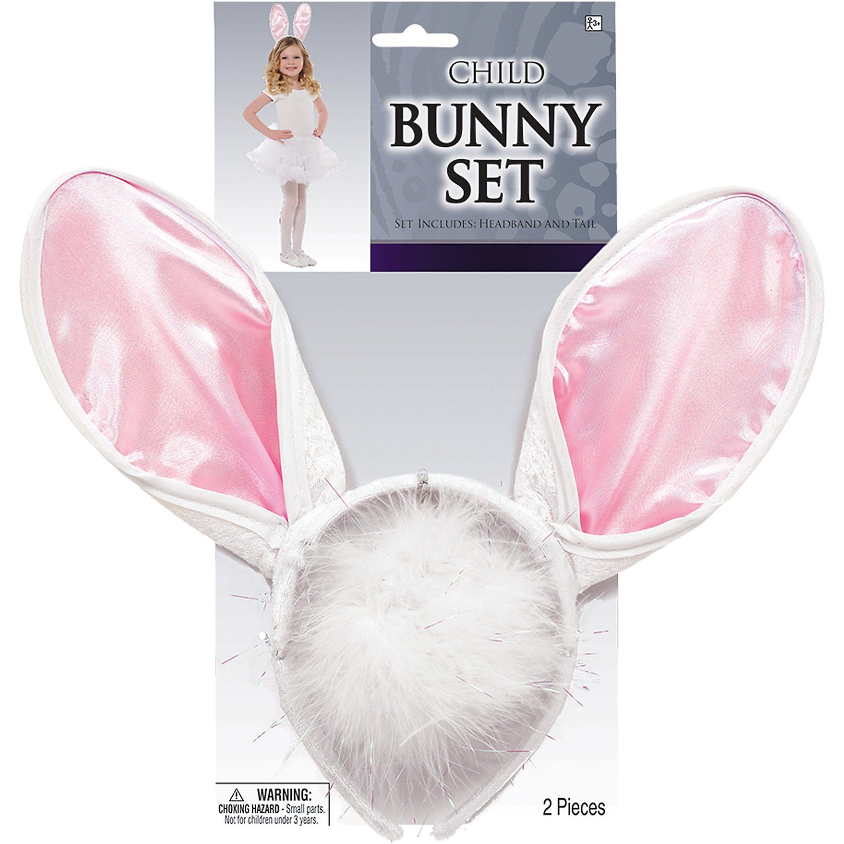 Amscan Accessoire-Set Hase Bunny