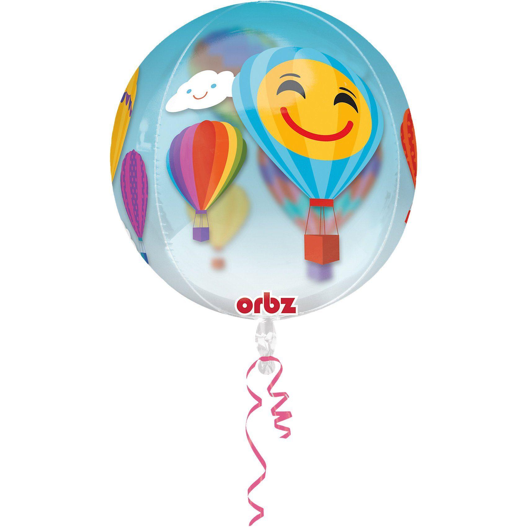 Amscan Folienballon Orbz Heißluftballons