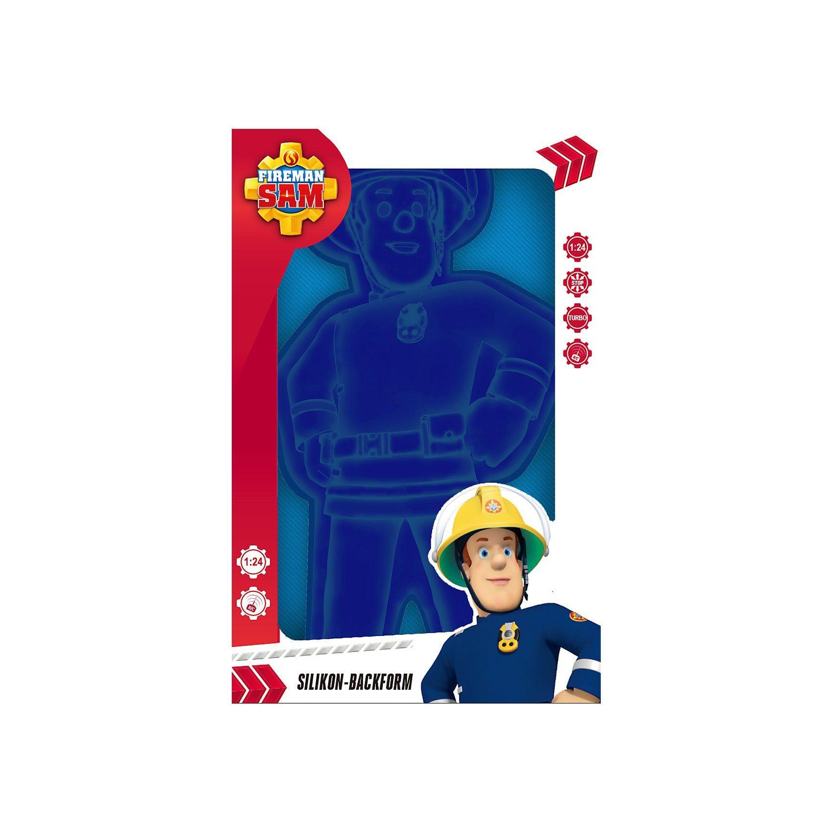 P:OS Silikonbackform Feuerwehrmann Sam