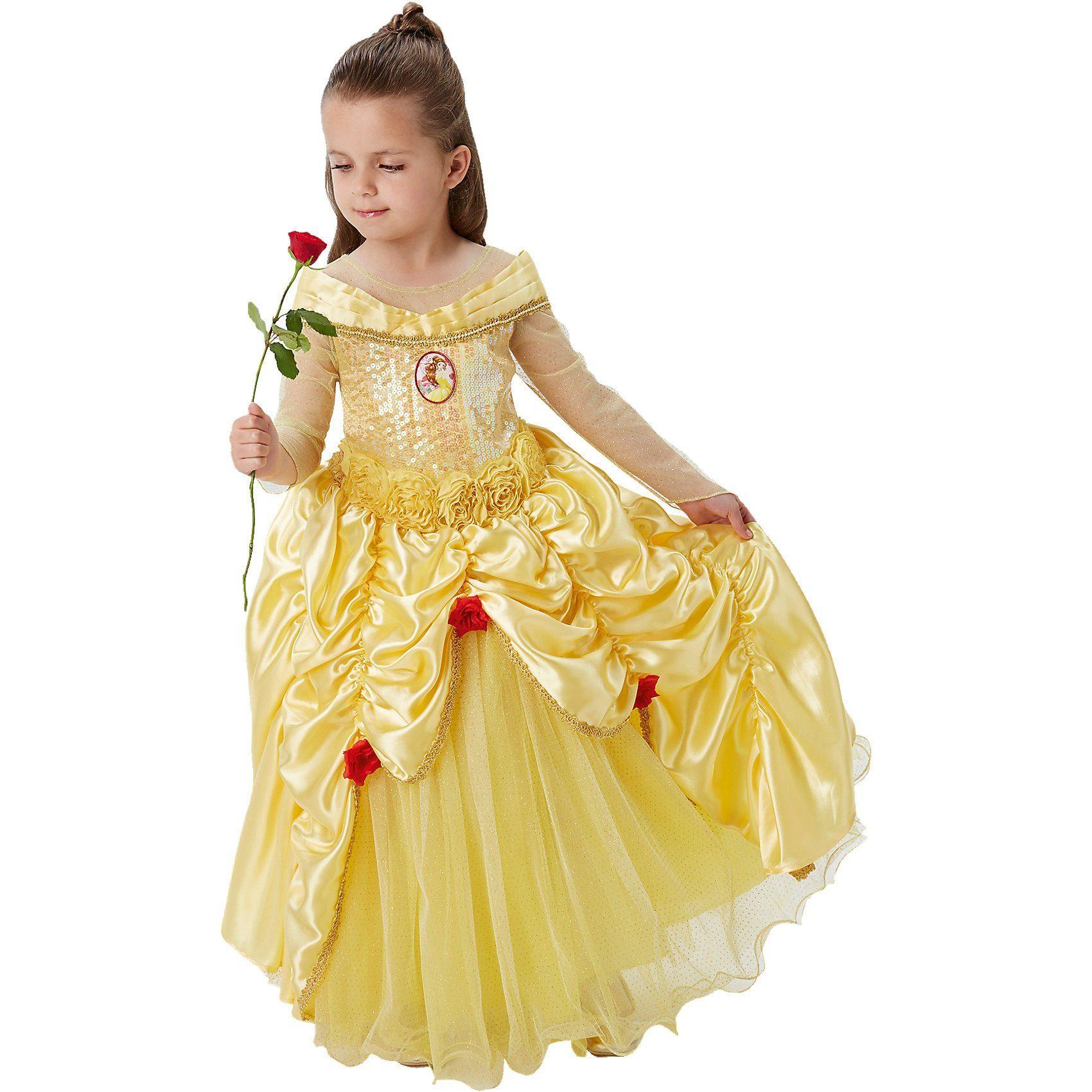 Rubie´s Kostüm Die Schöne & das Biest Belle Premium