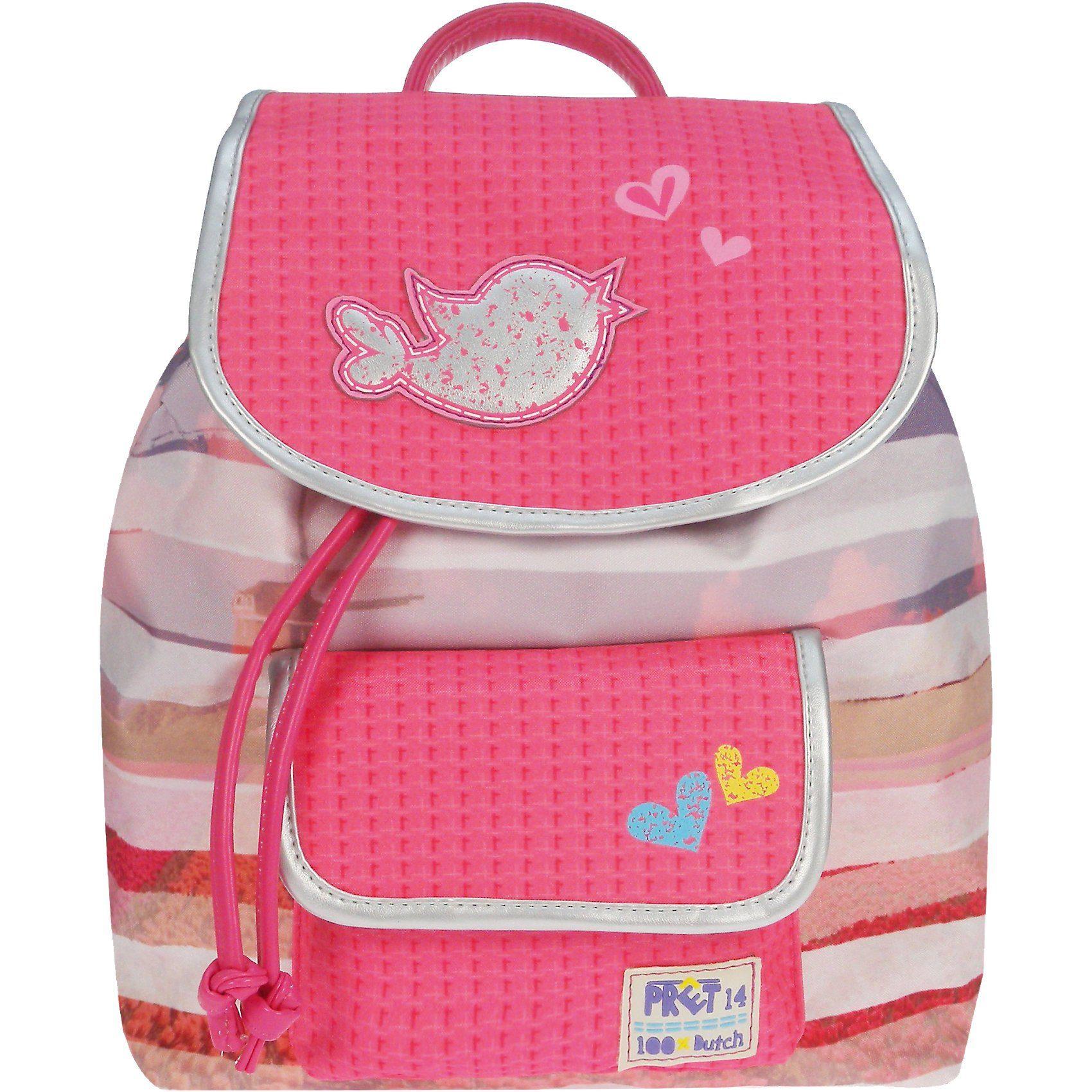 Vadobag Kinderrucksack PRET Denimized pink/rosa
