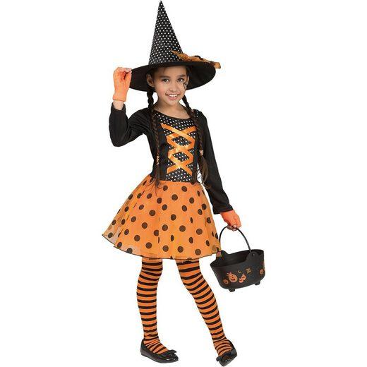 Funny Fashion Kostüm Hexe Polka, 2-tlg.