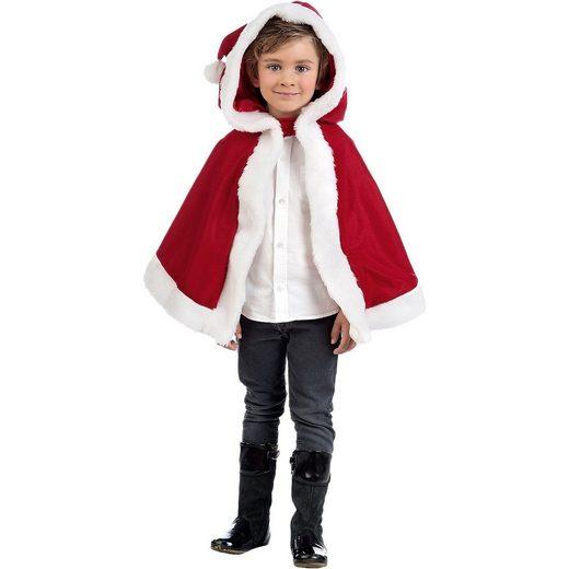 Limit Kostüm Umhang Weihnachtsmann