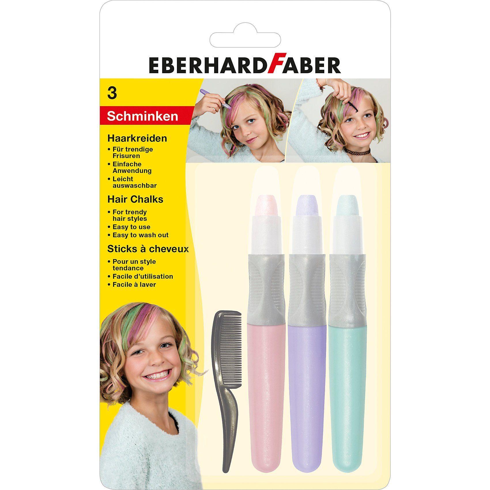 Eberhard Faber Haarkreide Set Pearl, 4-tlg.