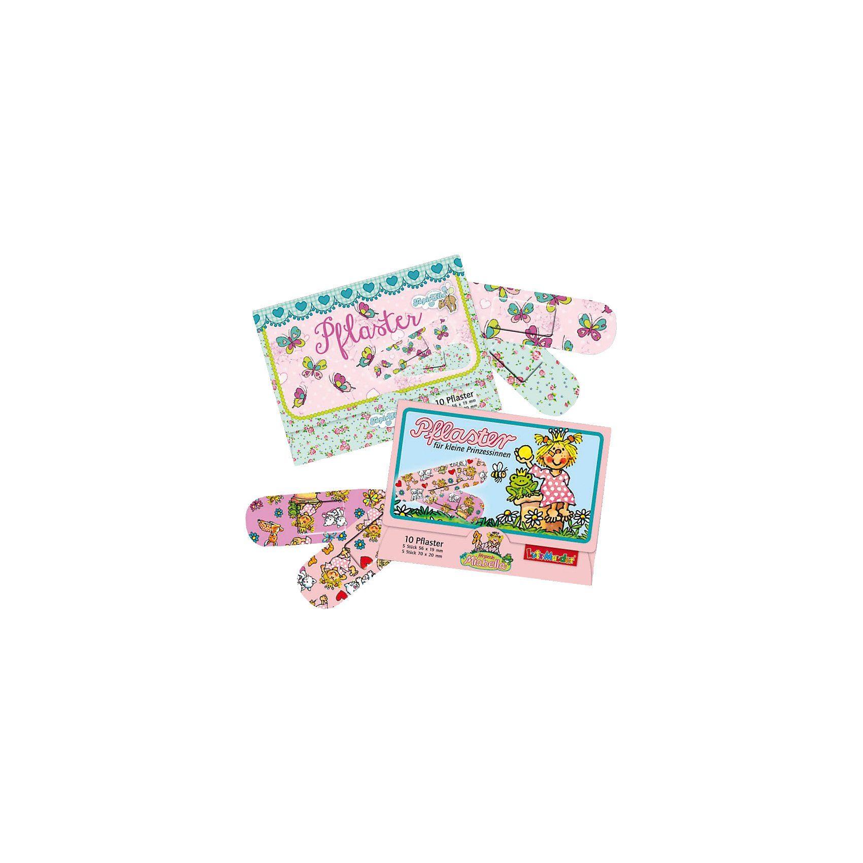 Lutz Mauder Verlag Pflasterbriefchenset Miabella und Butterflies, 20 Stück