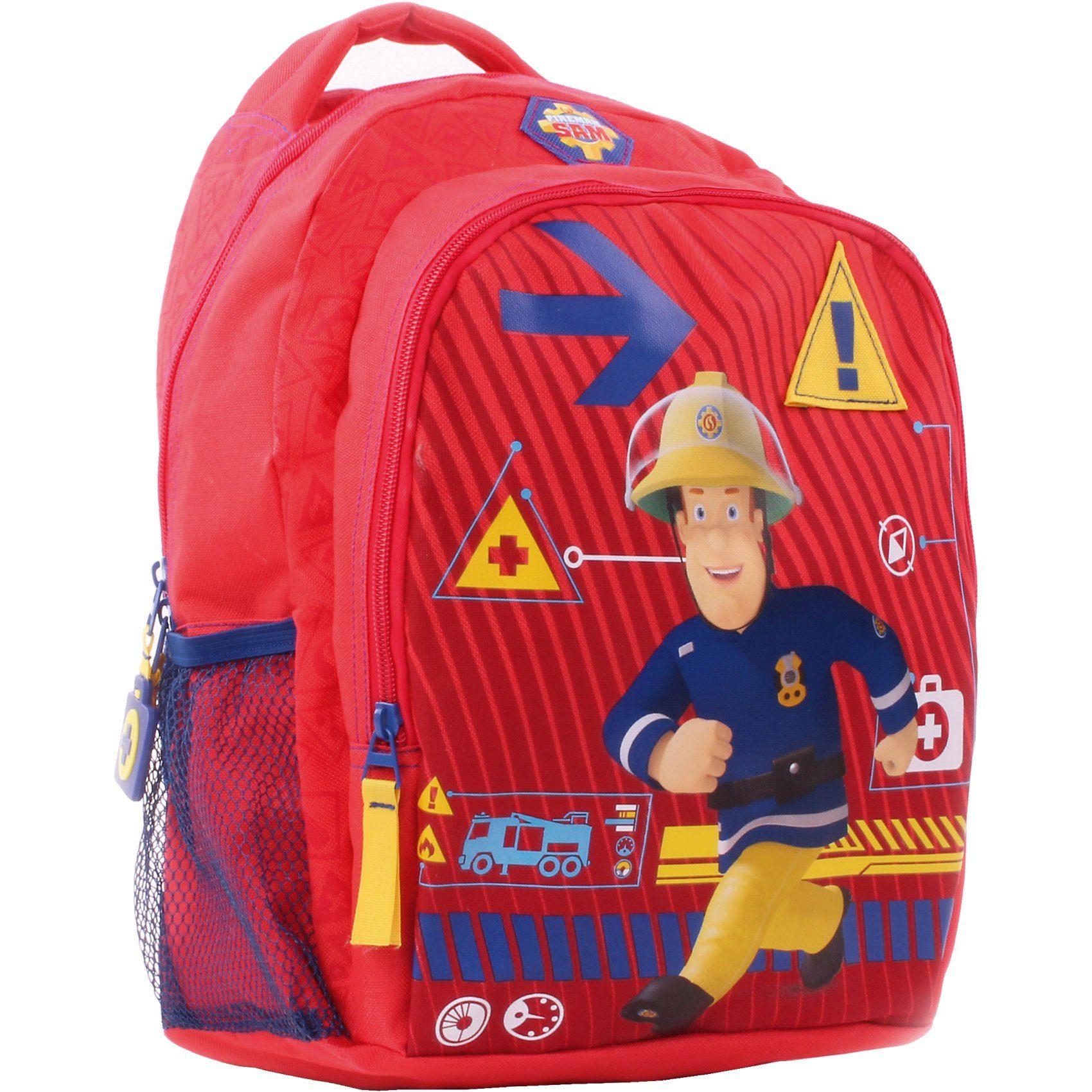 Vadobag Kinderrucksack mit Vortasche Feuerwehrmann Sam