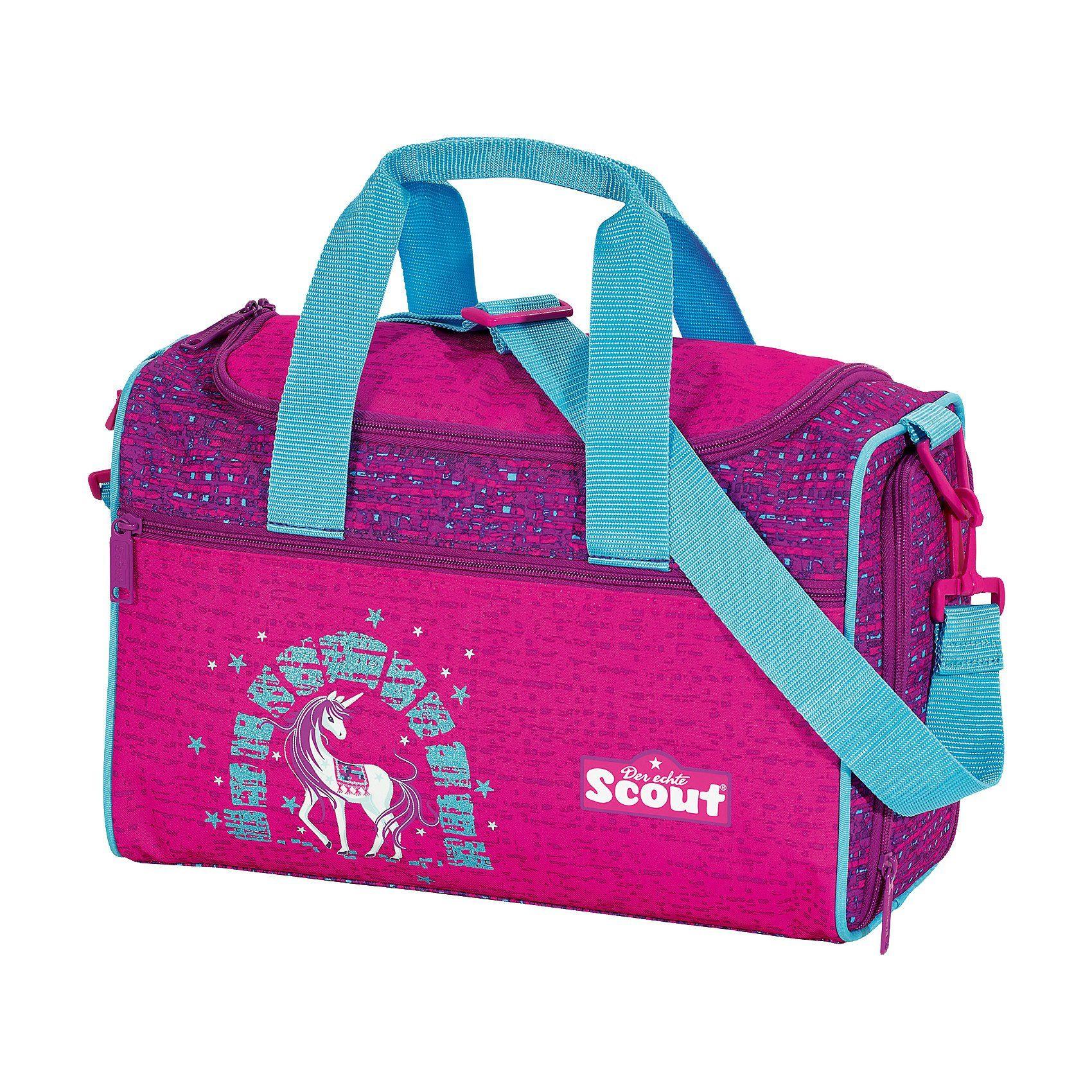 Scout Sporttasche IV Lilac Unicorn