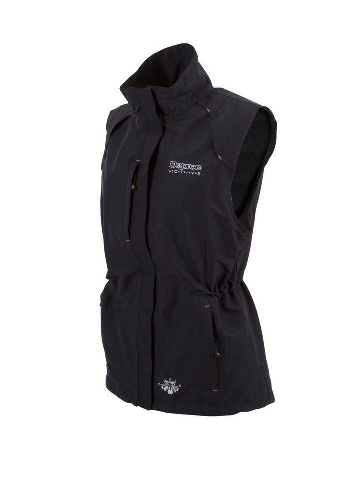 DEPROC Active Funktionsweste »KENORA WOMEN Stretch Vest« auch in Großen Größen erhältlich | Bekleidung > Westen > Funktionswesten | Schwarz | Nylon - Elastan | DEPROC Active
