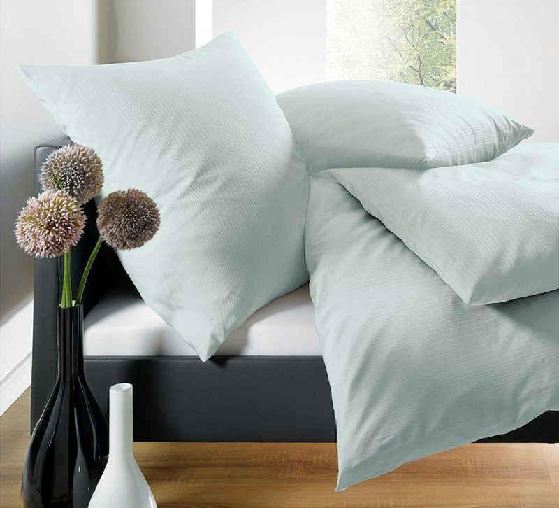 Bettwäsche »Leni«, Schlafgut, mit eleganten Schattenstreifen