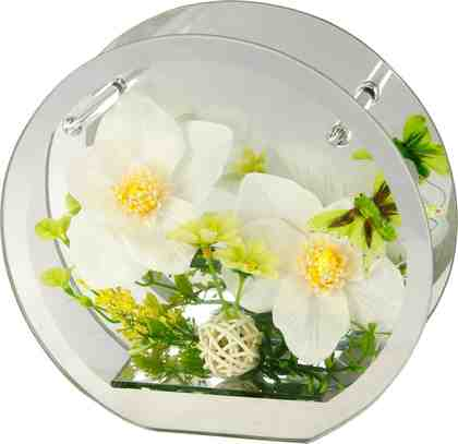 Home Affaire LED-Orchidee im Glas, Höhe 19 cm