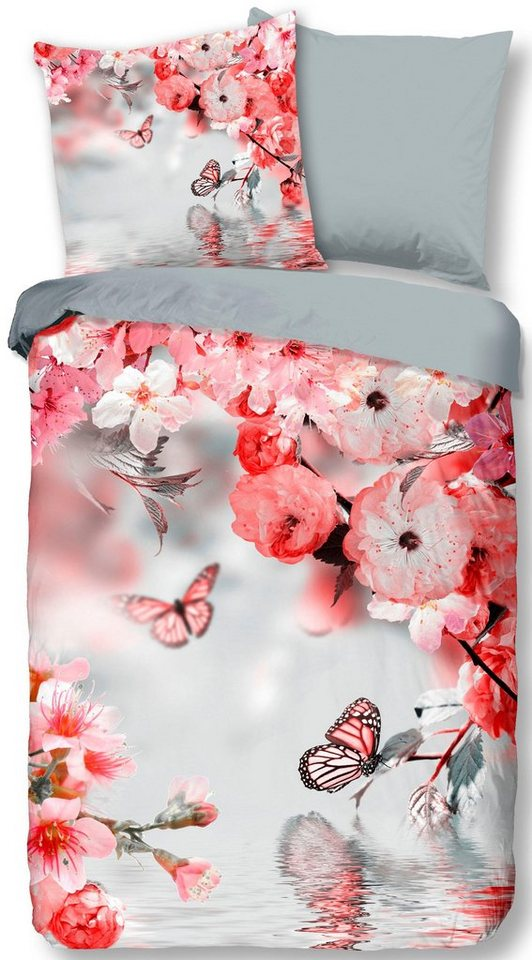 bettw sche dream descanso mit schmetterlingen und blumen online kaufen otto. Black Bedroom Furniture Sets. Home Design Ideas