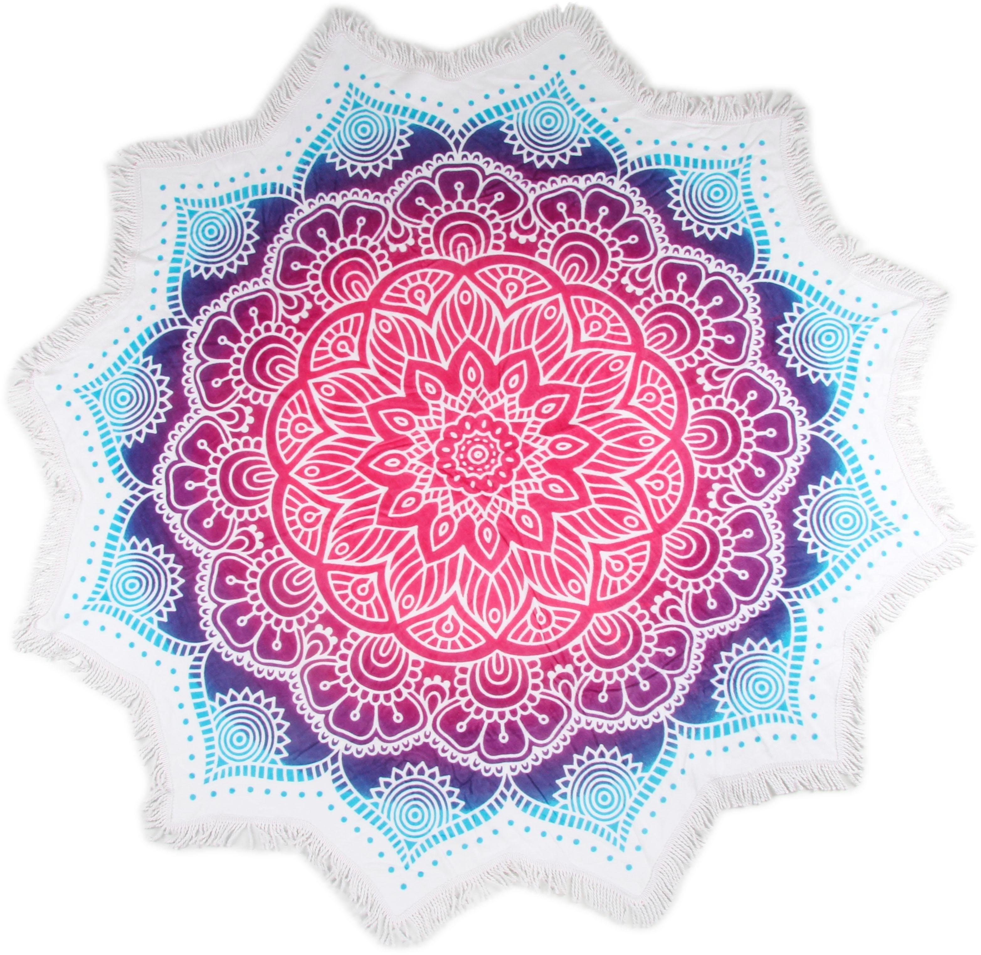 Strandtuch »Helena«, hip, mit Mandala