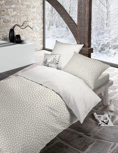 Kinderbettwäsche »Kati«, Schlafgut, mit kleinen Sternen