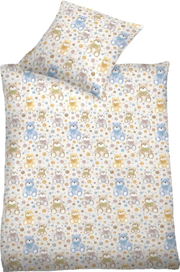 Kinderbettwäsche »Eis«, Schlafgut, mit niedlichen Eis Motiven | Kinderzimmer > Textilien für Kinder > Kinderbettwäsche | Schlafgut