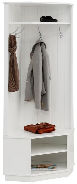 Garderoben Sets - Home affaire Garderobenschrank »Nekso« in 2 verschiedenen Farben  - Onlineshop OTTO