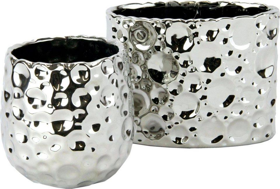 home affaire keramik t pfe in geh mmerter und gl nzender. Black Bedroom Furniture Sets. Home Design Ideas