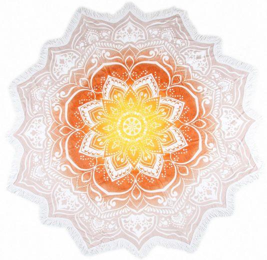 Strandtuch »Jayden«, hip, mit orientalischen Mandala