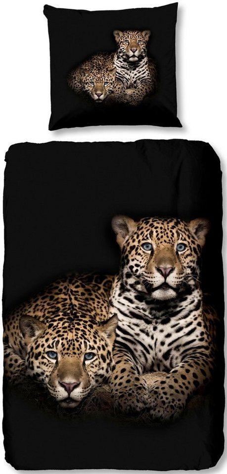 Wendebettwasche Leopard Good Morning Mit Leopard Motiv Online Kaufen Otto