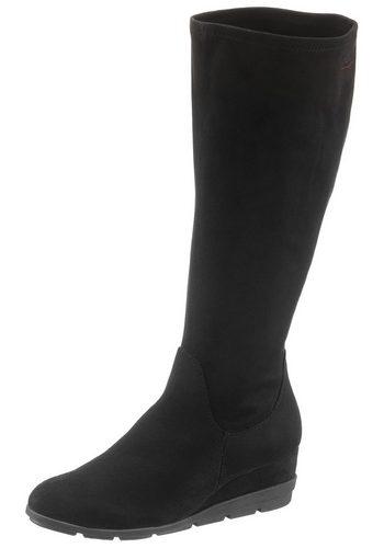Damen s.Oliver RED LABEL Stiefel mit kleinem Keilabsatz schwarz | 04055164206597