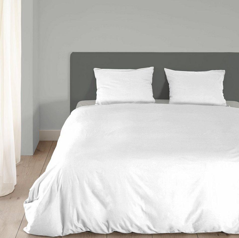 bettw sche uni good morning mit jeans stiching otto. Black Bedroom Furniture Sets. Home Design Ideas
