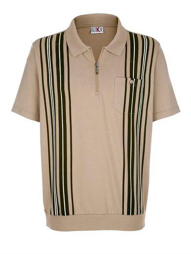 Roger Kent Poloshirt in bügelleichter Qualität