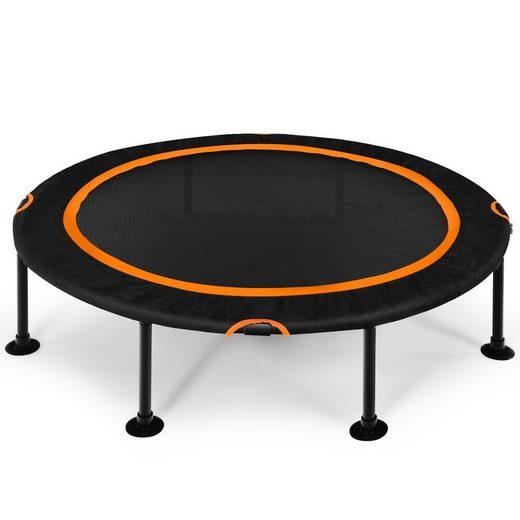 COSTWAY Fitnesstrampolin »Mini Trampolin Kindertrampolin«, φ120 cm, bis 65 kg belastbar, Indoor- und Outdoortrampolin