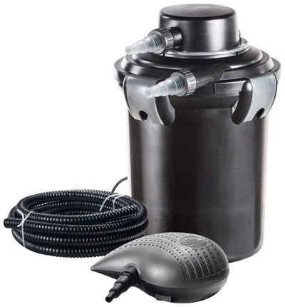 Heissner Teichfilter »SMARTLINE HLF4000-Set«, mit UVC-Klärer, Förderleistung: 2.200 l/h