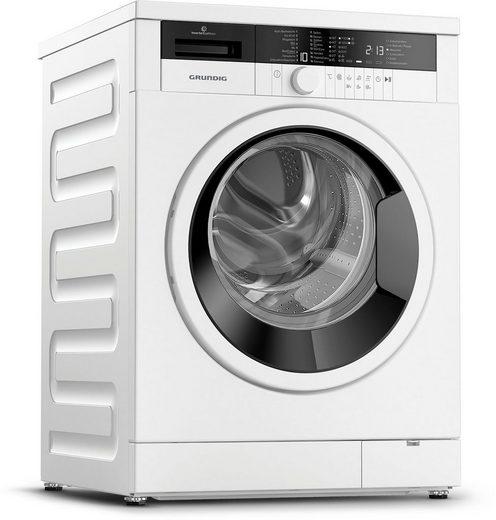 Grundig Waschmaschine GWO37430WB1, 7 kg, 1400 U/min