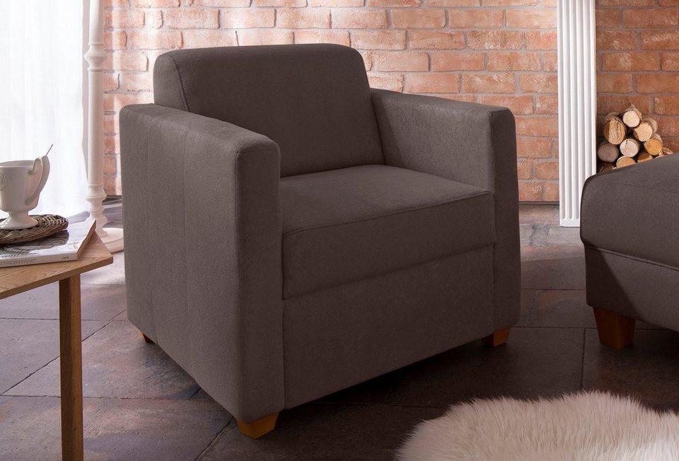 home affaire sessel belfort mit federkern kaufen otto. Black Bedroom Furniture Sets. Home Design Ideas
