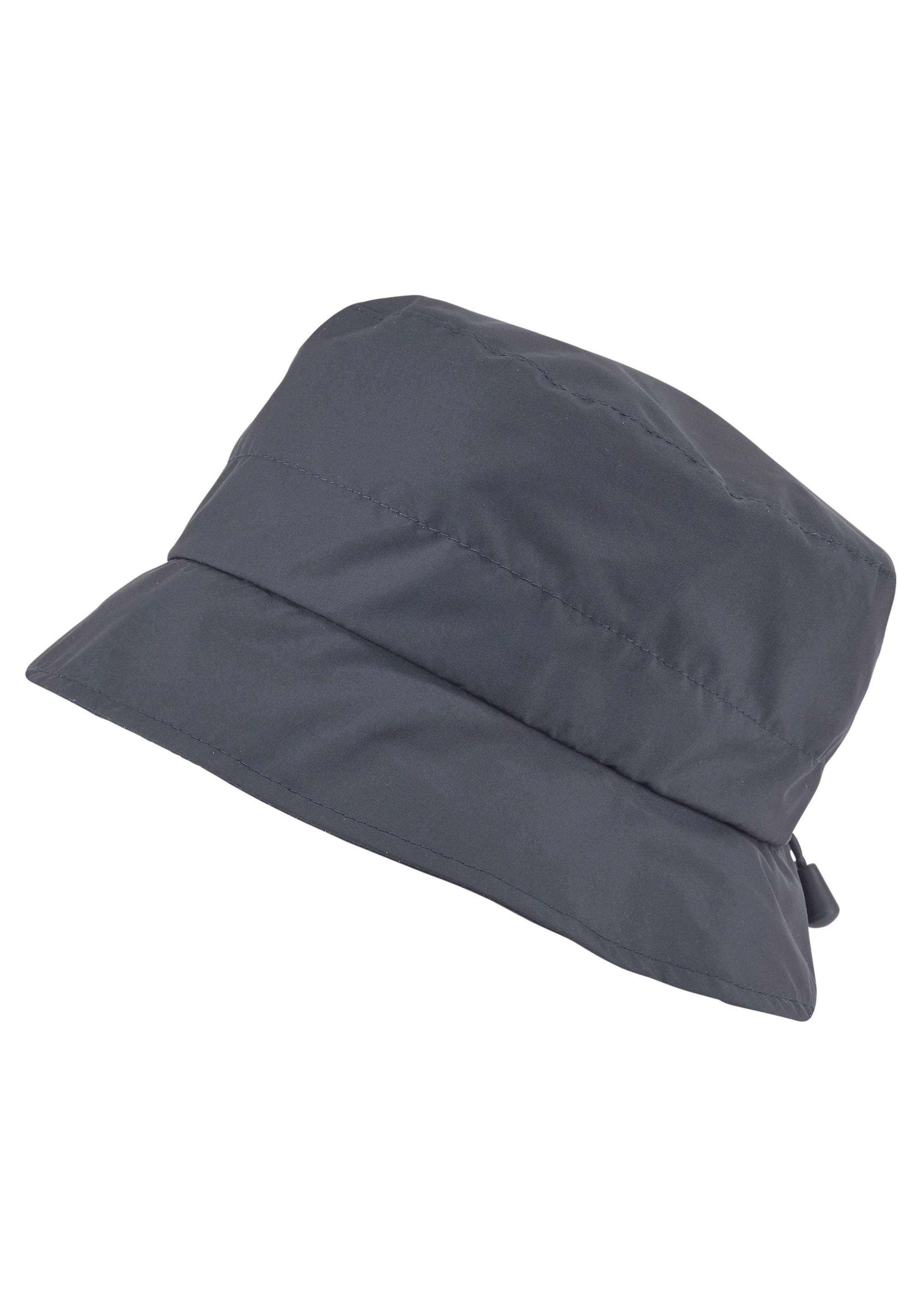 Loevenich Fischerhut mit Zugband, Fischerhut Look, Regenschutz