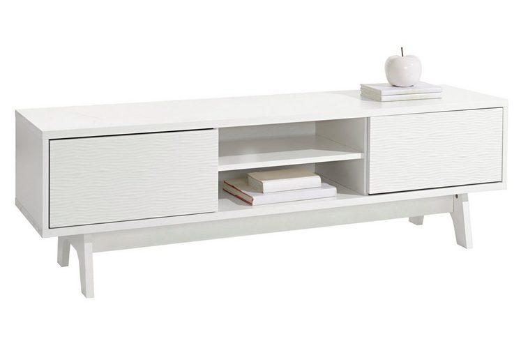 heine home TV-Lowboard mit dekorativen Fräsungen