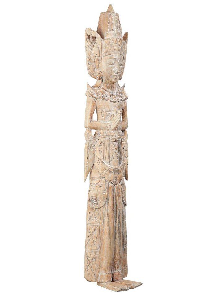 24023910be6ad9 heine home Wanddeko Götterfigur aus Massivholz, Balinesische Figur ...