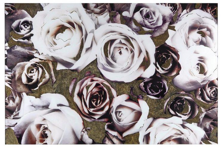 heine home Glasbild Rosen