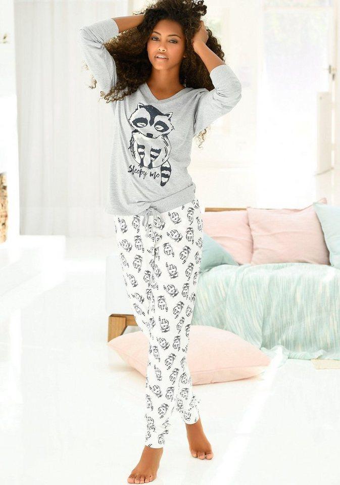 40c508b9744c59 Vivance Dreams Pyjama, mit Tierprint online kaufen | OTTO