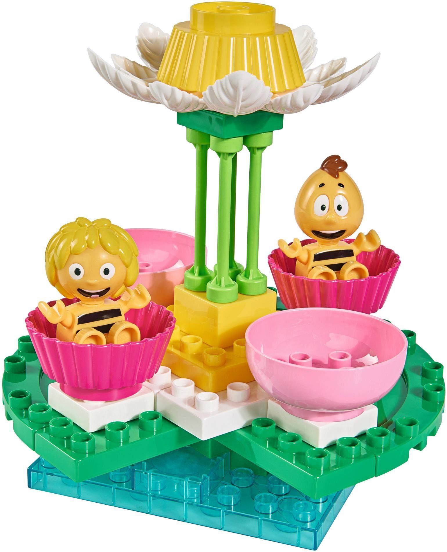 BIG Spielset, »BIG-Bloxx Biene Maja, Blütenkarussell, 38-tlg.«