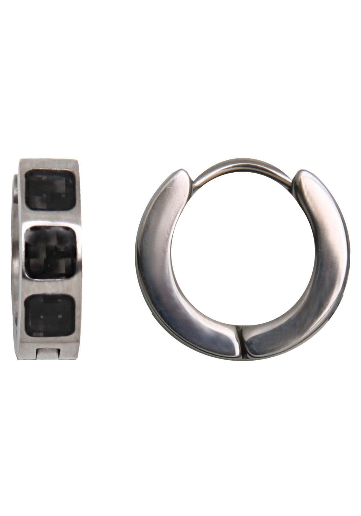 XENOX Paar Creolen »Classic in steel, X1941«