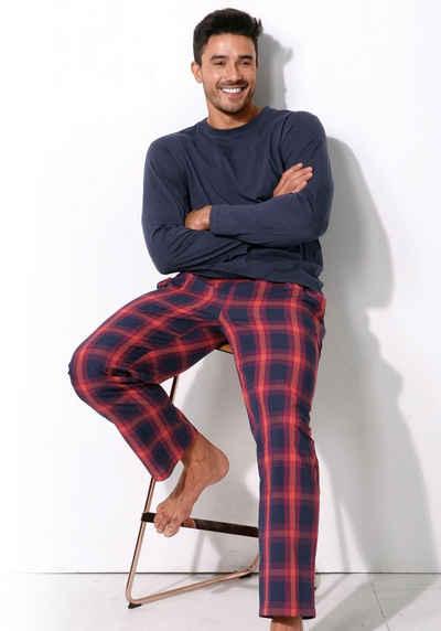 Langer Pyjama für Herren online kaufen   OTTO e110f84036