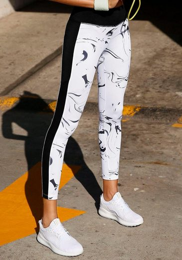 active by LASCANA Leggings »White Marble«